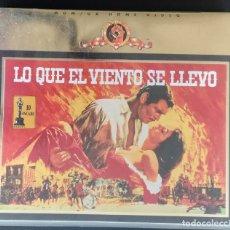 Cine: VHS LO QUE EL VIENTO SE LLEVO: 2 CINTAS VHS + CAJA DE LUJO. Lote 168114940