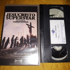 Cine: VHS- JESUCRISTO SUPERSTAR- NORMAN JEWISON. Lote 168179685