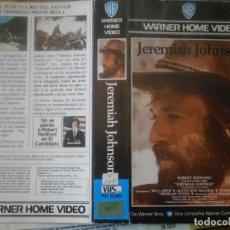 Cine: ¡¡SOLO CARATULA¡¡ EDICCION VIDEO CLUB..JEREMIAH JOHNSON. Lote 168256176