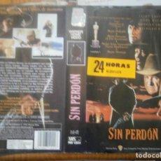 Cine: ¡¡SOLO CARATULA¡¡ EDICCION VIDEO CLUB..SIN PERDON. Lote 168257528