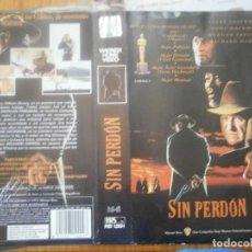 Cine: ¡¡SOLO CARATULA¡¡ EDICCION VIDEO CLUB..SIN PERDON. Lote 168257640