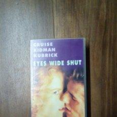 Cine: EYES WIDE SHUT - VHS. Lote 168295164