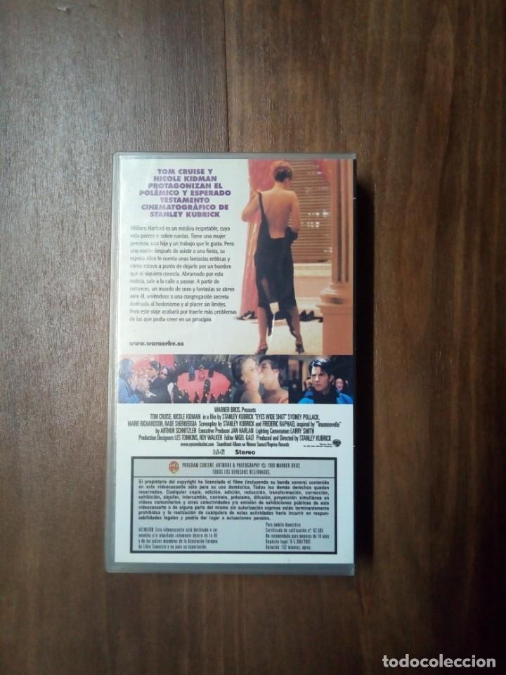 Cine: EYES WIDE SHUT - VHS - Foto 2 - 168295164