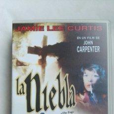 Cine: LA NIEBLA VHS JAMIE LEE CURTIS CARPENTER TERROR. Lote 168402710