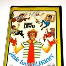 Cine: DALE FUERTE JERRY (1980) - JERRY LEWIS SUSAN OLIVER ROGER C. CARMEL DEANNA LUND VHS ÚNICA. Lote 168448980