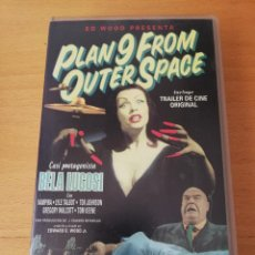 Cine: PLAN 9 FROM OUTER SPACE (VHS) DIRIGIDA POR EDWARD D. WOOD JR.. Lote 168508692