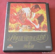 Cine: LO QUE EL VIENTO SE LLEVO - 2 CINTAS DE VHS EN ESTUCHE. Lote 168596576