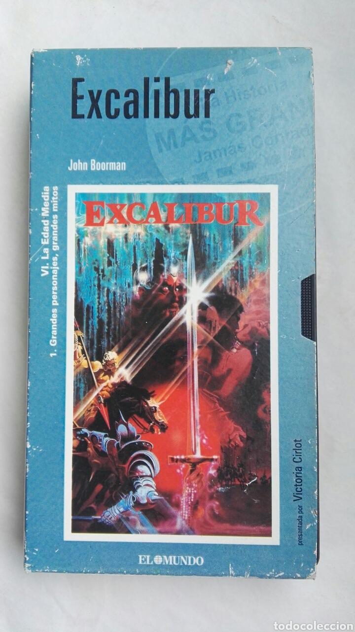 EXCALIBUR VHS (Cine - Películas - VHS)