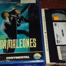 Cine: CAMALEONES - VHS - PEDIDO MINIMO 6 EUROS. Lote 168676760