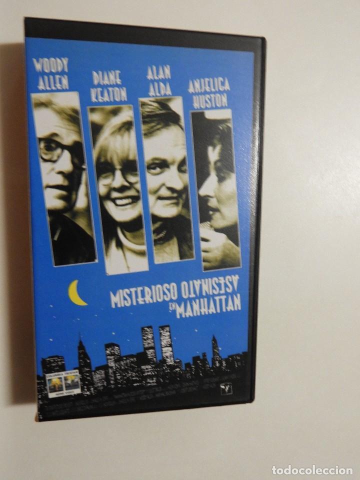 MISTERIOSO ASESINATO EN MANHATTAN, DTOR. WOODY ALLEN (Cine - Películas - VHS)