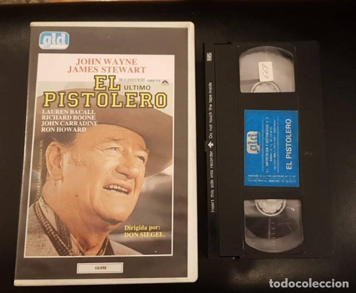 EL PISTOLERO - DON SIEGEL - LAUREN BACALL , RICHARD BOONE - GLD 1984 (Cine - Películas - VHS)