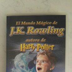 Cine: EL MUNDO MÁGICO DE J.K. ROWLING VHS UN TRIBUTO NO AUTORIZADO. Lote 169002508