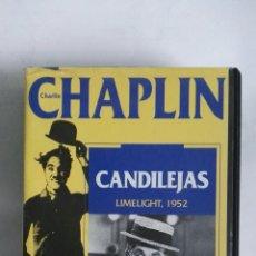Cine: CHAPLIN CANDILEJAS VHS. Lote 169012469