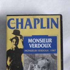 Cine: CHAPLIN MONSIEUR VERDOUX VHS. Lote 169029201