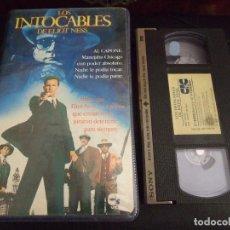 Cine: LOS INTOCABLES DE ELIOT NESS - BRIAN DE PALMA - KEVIN COSTNER , SEAN CONNERY - CIC 1987. Lote 169198296