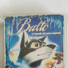 Cine: BALTO LA LEYENDA DEL PERRO ESQUIMAL VHS. Lote 169613597