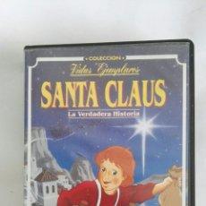 Cine: SANTA CLAUS LA VERDADERA HISTORIA VHS. Lote 169616050