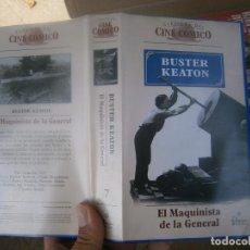 Cine: EL MAQUINISTA DE LA GENERAL-VHS. Lote 169654148