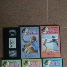Cine: 6 PELÍCULAS VHS EL MUNDO DE CELIA. Lote 169768340