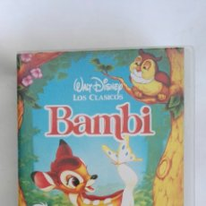 Cine: BAMBI VHS. Lote 169835686