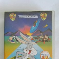 Cine: EL SHOW DE BUGS BUNNY Y EL CORRECAMINOS VHS. Lote 169836584