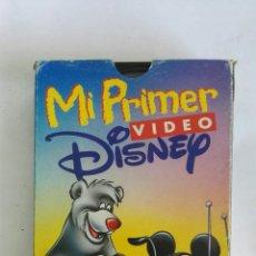 Cine: MI PRIMER VÍDEO DISNEY VHS. Lote 169837805