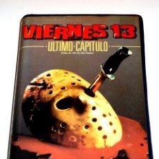 Cine: VIERNES 13 PARTE 4 : ULTIMO CAPITULO (1984) - JOSEPH ZITO JUDIE ARONSON COREY FELDMAN VHS 1ª EDICIÓN. Lote 169940180