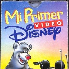 Cine: VHS MI PRIMER VIDEO DISNEY. Lote 169983504