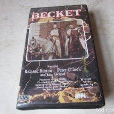Cine: RICHARD BURTON & PETER O´TOOLE - BECKET VHS - MPI HOME VIDEO - V.O. INGLÉS. Lote 194348297