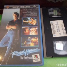 Cine: ROAD HOUSE DE PROFESION DURO - ROWDY HERRINGTON - PATRICK SWAYZE , SAM ELLIOTT - WARNER 1989. Lote 170220920