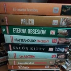 Cine: LOTE 30 VHS INTERVIU EROTICO PORNO. Lote 170267268
