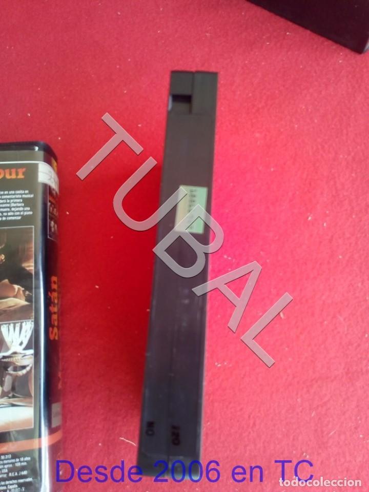 Cine: TUBAL VHS SATAN MON AMOUR PELICULA - Foto 4 - 170295220