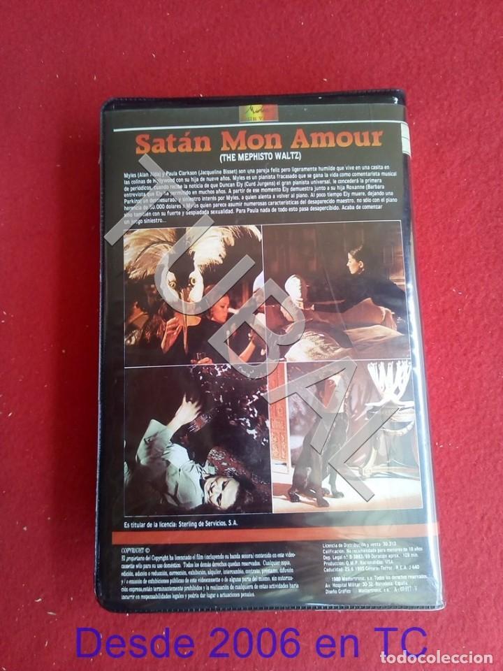 Cine: TUBAL VHS SATAN MON AMOUR PELICULA - Foto 5 - 170295220