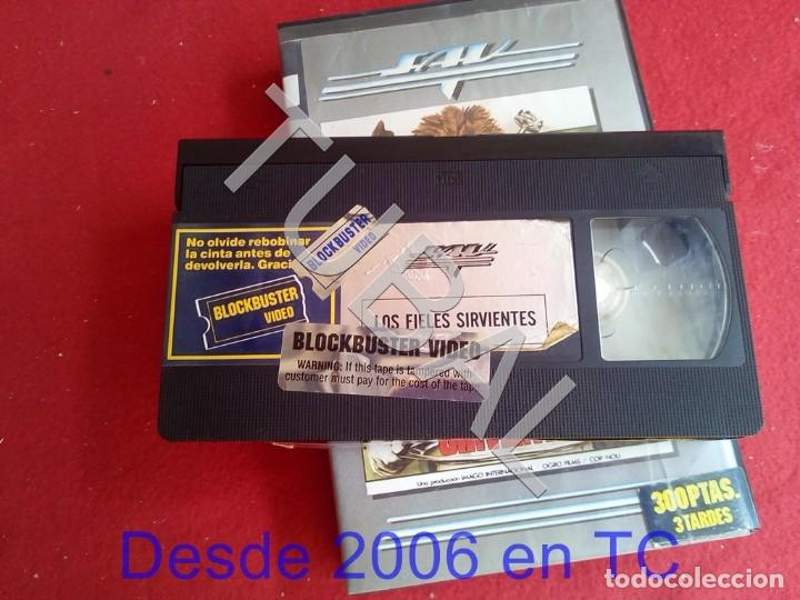 Cine: TUBAL VHS LOS FIELES SIRVIENTES PELICULA - Foto 4 - 170295420