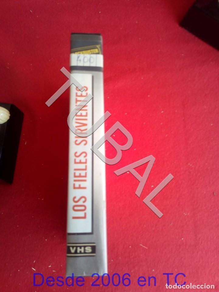 Cine: TUBAL VHS LOS FIELES SIRVIENTES PELICULA - Foto 7 - 170295420