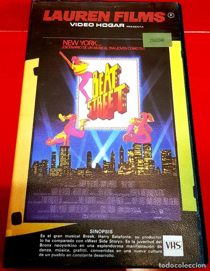 BEAT STREET (1984) - 1ª EDIICIÓN LAUREN (Cine - Películas - VHS)