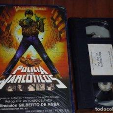 Cine: POLICIA DE NARCOTICOS . VALENTIN TRUJILLO - VHS. Lote 170351904