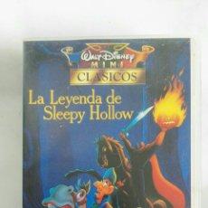 Cine: LA LEYENDA DE SLEEPY HOLLOW MINI CLÁSICOS DISNEY VHS. Lote 170464176