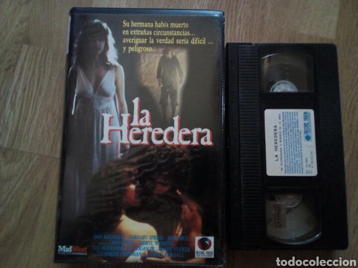 LA HEREDERA VHS TERROR PARANORMAL ( ÚNICA EN TC ) (Cine - Películas - VHS)