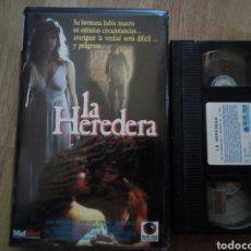 Cine: LA HEREDERA VHS TERROR PARANORMAL ( ÚNICA EN TC ). Lote 170725857