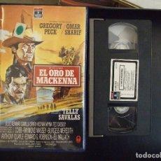 Cine: EL ORO DE MACKENNA - J.LEE THOMPSON - GREGORY PECK , OMAR SHARIF - RCA -1968. Lote 194350978