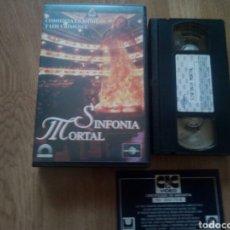 Cine: SINFONÍA MORTAL RAREZA TERROR ( ÚNICA EN TC ). Lote 171171248