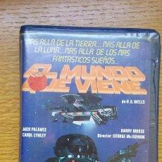 Cine: EL MUNDO QUE VIENE . SCIFI - VHS JACK PALANCE. Lote 171200817