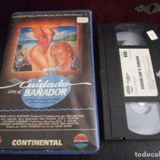 Cine: CUIDADO CON EL BAÑADOR SWIMSUIT - CHRIS THOMSON - WILLIAM KATT , ALLY WALKER - CONTINENTAL 1986. Lote 171343260