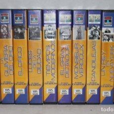 Cine: LOTE DE 10 VHS COLECCIÓN EL GRAN CHAPLIN. Lote 171346908