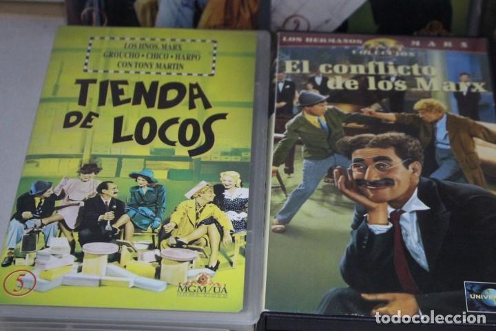 Cine: lote de 9 vhs, Hermanos Marx - Foto 3 - 171347705