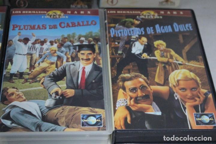 Cine: lote de 9 vhs, Hermanos Marx - Foto 4 - 171347705