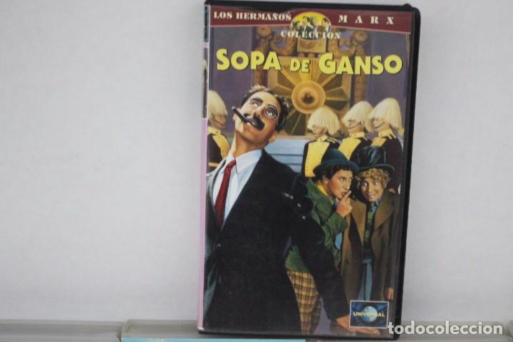 Cine: lote de 9 vhs, Hermanos Marx - Foto 7 - 171347705