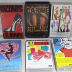 Cine: LOTE DE 6 VHS, PEDRO ALMODOVAR. Lote 171348052