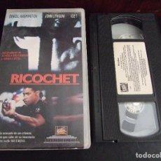 Cine: RICOCHET - RUSSELL MULCAHY - DENZEL WASHINGTON , ICE T - FOX 1993. Lote 171348277